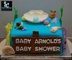 finding nemo baby shower cake custom made cakes pinterest