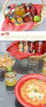 summer gift basket spicy summer gift basket sugar spice and glitter