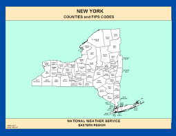 County Map New York by Maps New York Counties And Fips Codes