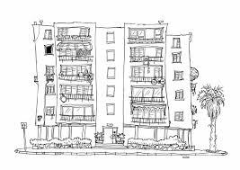 black and white apartment building clip art with ideas photo 9003