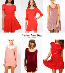 a cute little dress for valentines day almost makes perfect