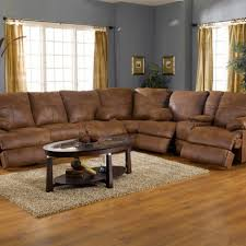 Sofas And Recliners Microfiber Sectional Sofas With Sofa Recliners Ottoman Small