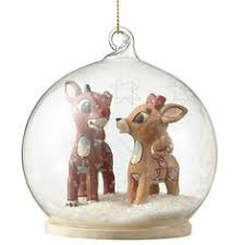 rudolph traditions by jim shore bumble dome ornament jim