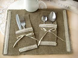 bride and groom table setting burlap wedding table decorations