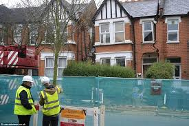 Basement Dig Out Cost by Finchley North London Couple U0027s Home Collapsed Because Of Botched
