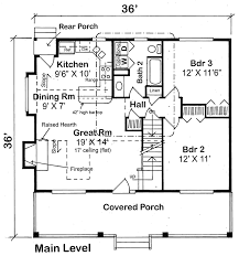Saltbox House Floor Plans Country House Plans At Coolhouseplans Com