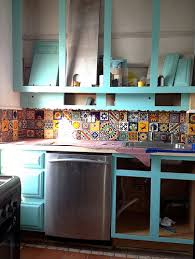 mexican tile backsplash kitchen mexican tiles reclaimedhome