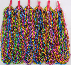 parade throws wholesale mardi gras assorted neon disco 6 dozen parade throw 33 inch