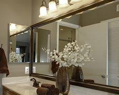 frame mirror like mirror mates but cheaper at lowes pick out