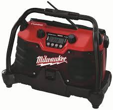 Milwaukee Lights Milwaukee 49 24 0280 V28 28 Volt Lithium Ion Job Site Radio