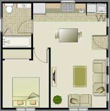 this is just under 500 square feet but the layout is really