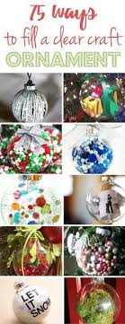 diy glitter ornaments ornament ornament and easy