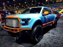 porsche truck 2016 beautiful gulf porsche le mans inspired f 150 outshines rest of