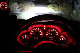 jeep wrangler dashboard lights has anyone changed the led blub color in the gauge cluster i may be