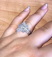 edwardian style engagement rings engagement and wedding set set of 3 wedding rings 14k