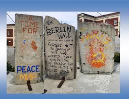 berlin wall sections the berlin wall tyranny laid waste juicy ecumenism