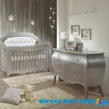 pali cristallo forever crib in vintage white with leather panel