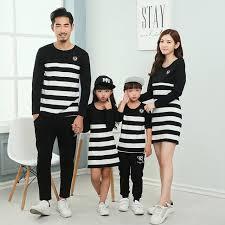 aliexpress buy 2016 family set striped