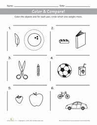 weight measurements for kindergarten education com