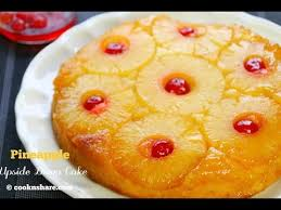 pineapple upside down cake simple and easy youtube