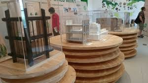 this exhibit shows how you can build a high rise out of wood