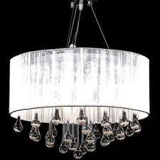 white drum light fixture white drum pendant light shade crystal ceiling l chandelier
