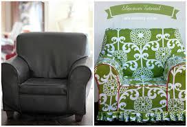 Diy Armchair Armchair Slipcover Tutorial