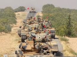 It Is Being Reported That Turkish Military Forces Have by Syrian War More Turkish Tanks Cross Border Into Al Rai As