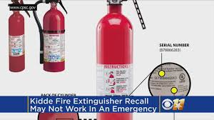 more than 40m fire extinguishers recalled may not work in
