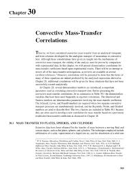 chapter 30 fundamentals of momentum heat and mass transfer