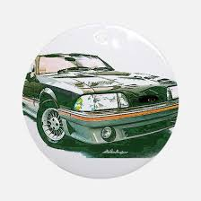 ford mustang ornament cafepress
