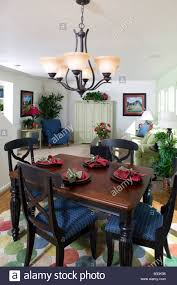 Dining Room Furniture Usa Middle Class Single Family Home Interior Dining Room Table And