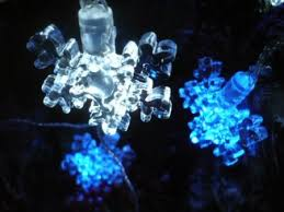 buy 80 blue led chasing snowflake lights for frozen themed