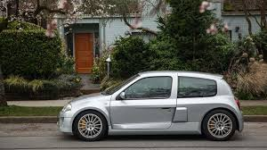 renault clio v6 white find of the week 2001 renault clio v6 mk 1 autotrader ca