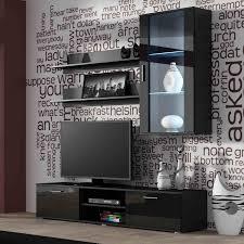 Meuble Salon Noir Et Blanc by Ensemble Meuble Tv Azura Home Design