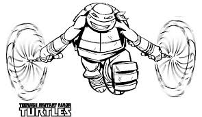 tmnt coloring pages michelangelo printable design michelangelo