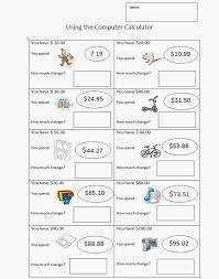 third grade money worksheet k 5 computer lab technology lessons