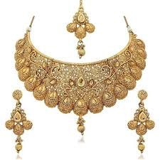 gold plated necklace set images Ethnic khazana gold plated necklace sets for women ek in vf0ys jpg