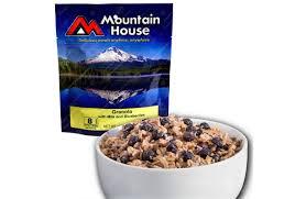 w milk u0026 blueberries mountain house pouch preppersedge com