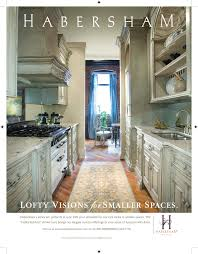 The Galley Kitchen Sneak Preview Upcoming Habersham Ad In Architectural Digest