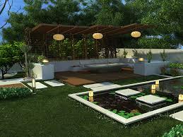 Pool Garden Ideas Outdoor And Gardening Designs Lotus Backyard Pool Landscaping