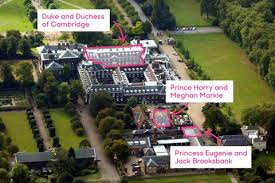 who lives in kensington palace princess eugenie and her fiancé just moved next door to prince harry
