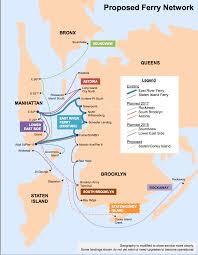 Map Staten Island De Blasio Defends New Staten Island Ferry Plan Observer