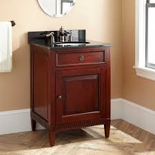 mahogany wood bathroom vanity signature hardware 24