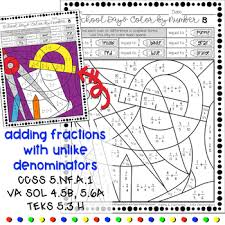 to fractions and decimals color by number free worksheets