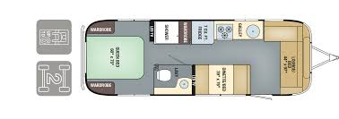 Airstream Travel Trailers Floor Plans by New 2017 Airstream International Serenity 28 Travel Trailer