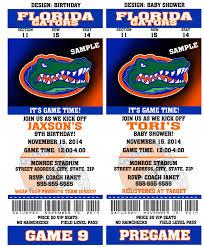 printable florida gators college football birthday party zoom
