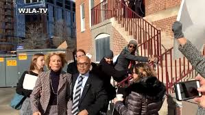 education betsy devos physically blocked by protesters
