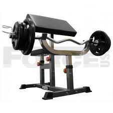 force usa seated preacher curl bench gym in bondi and penrith and
