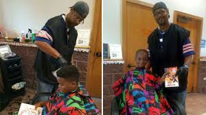 meet courtney holmes the barber who gave kids free haircuts for